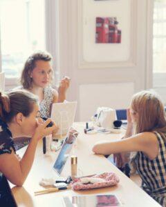 atelier maquillage debutantes