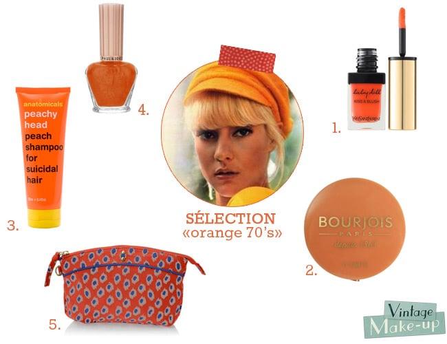 selection orange 70s