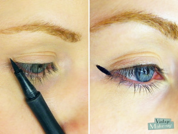 eye liner symetrique