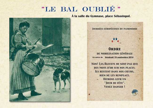 bal oublie invitation