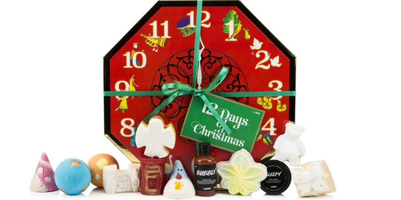 calendrier avent lush