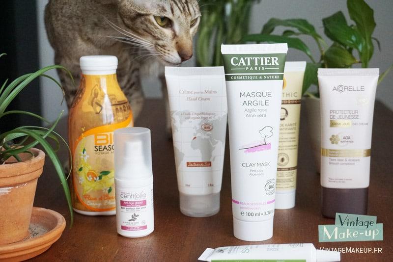 label bio et maquillage