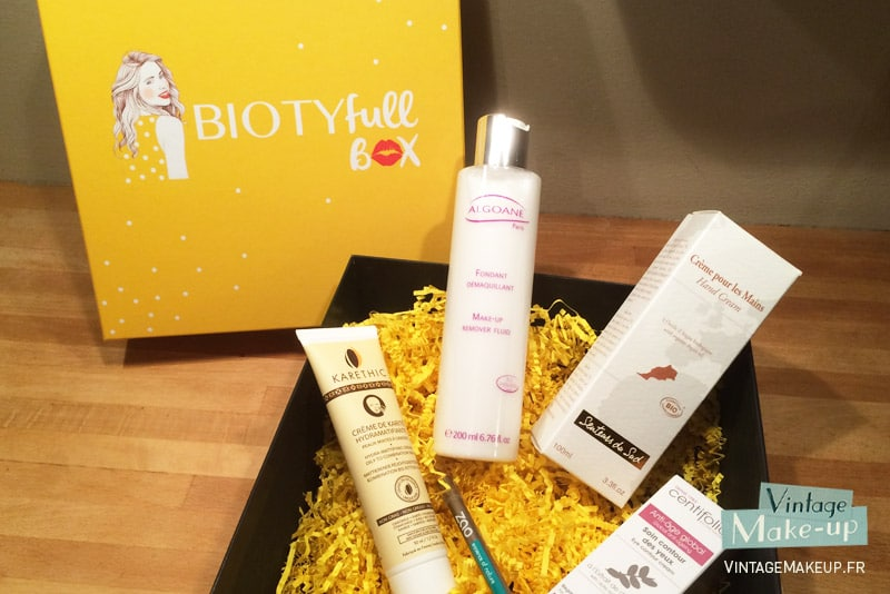 box produits beaute biotyfull box