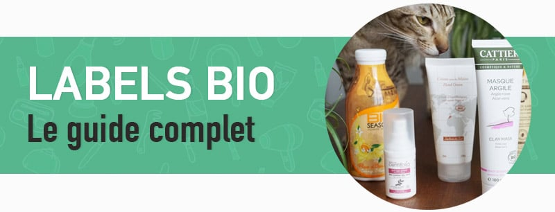 guide des labels bio cosmetique