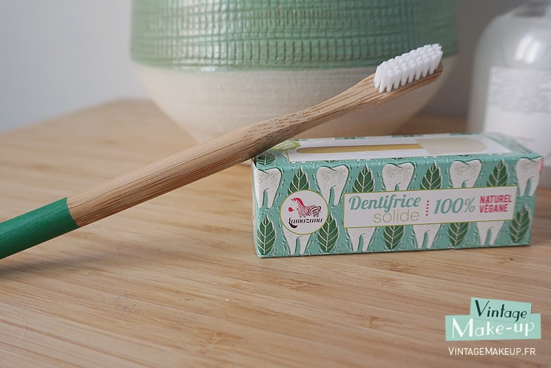 dentifrice solide vegan