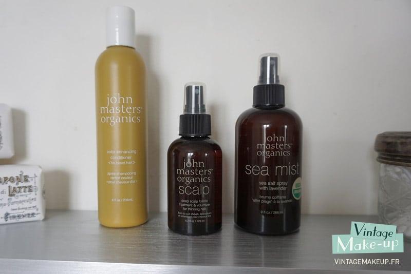 produits cheveux john masters organics