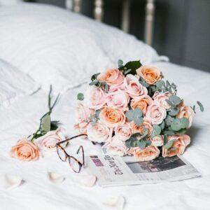 au nom de la rose box fleurs