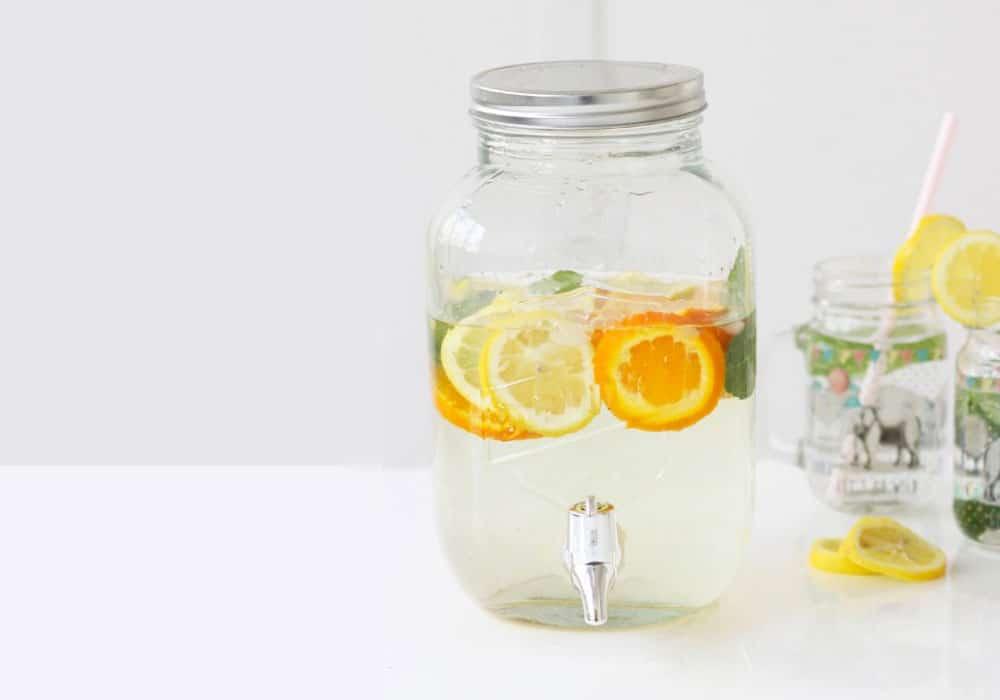 distributeur boissons verre