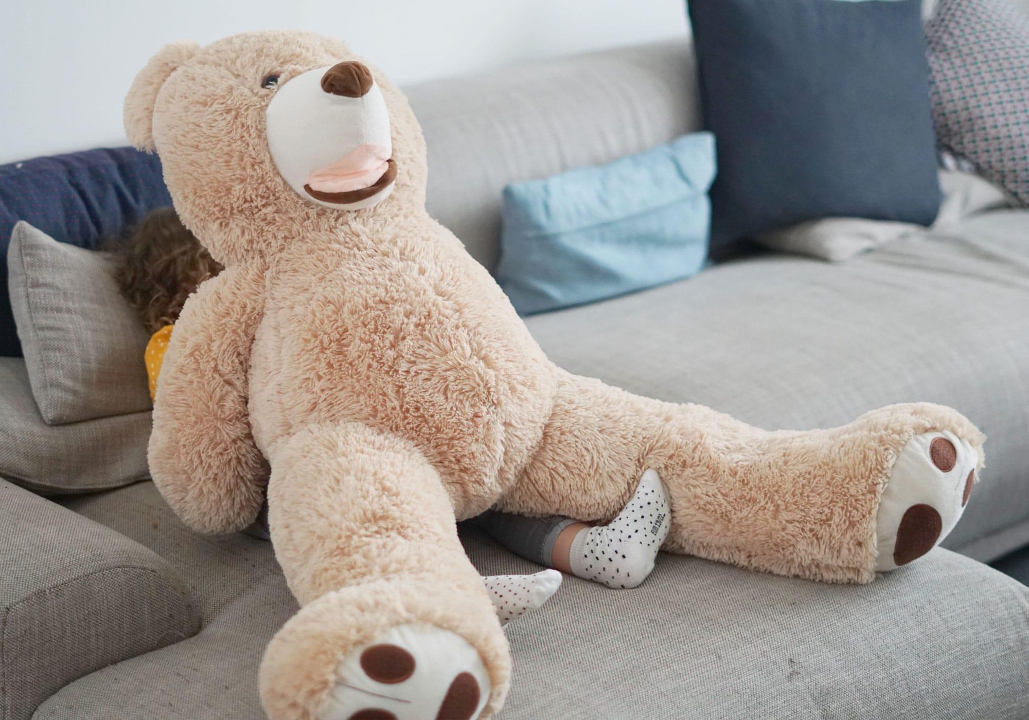ours en peluche doudou