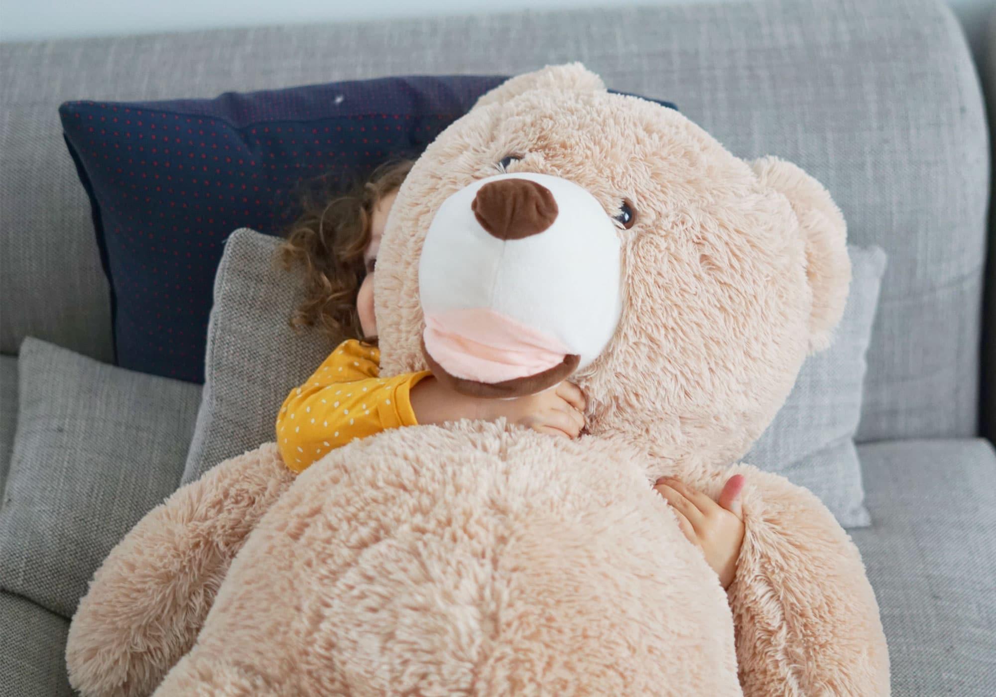 ours peluche geant enfant