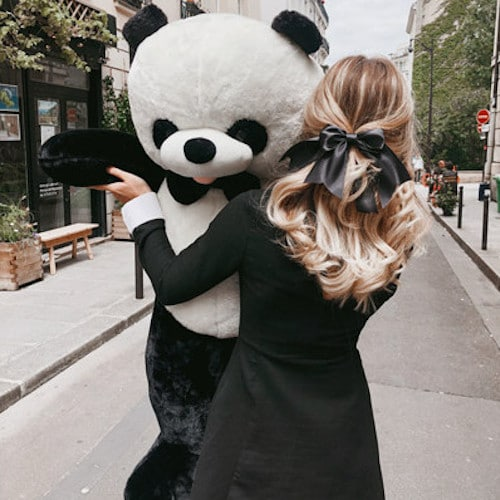 peluche panda geant