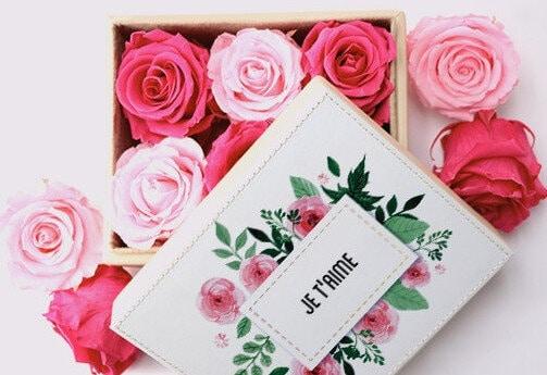 roses eternelles interflora