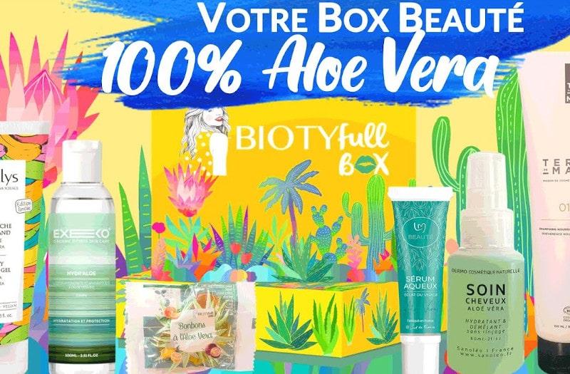 biotyfull box aout 2020 contenu