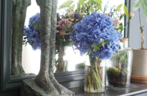 bouquet amitie bloom wild hortensia