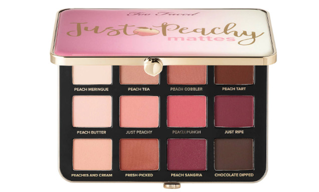just peachy matte too faced